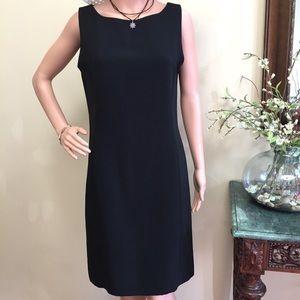Rafaela Black Sheath Dress